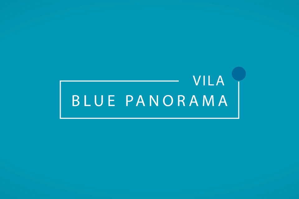 Blue Panorama Video